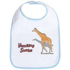 Vomiting Sucks Bib