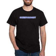 Retro Scientologist (Blue) T-Shirt