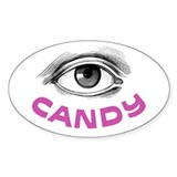 Eye Candy Oval Decal