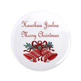 "Finland Christmas 3.5"" Button (100 pack)"