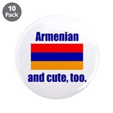 "Cute Armenian 3.5"" Button (10 pack)"