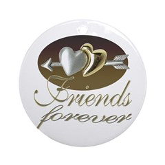 Friends Forever Keepsake (Round)