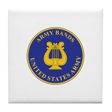 ARMY-BANDS Tile Coaster