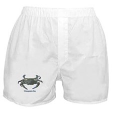 Chesapeake Bay Blue Crab Boxer Shorts
