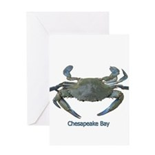 Chesapeake Bay Blue Crab Greeting Card