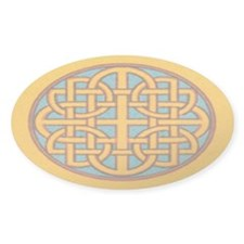 Newgrange Oval Sticker (10 pk)