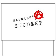 Straight A Student Yard Sign