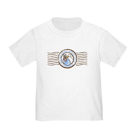 Precious Contents Stamp Blue Toddler T-Shirt