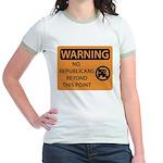 No Republicans Jr. Ringer T-Shirt