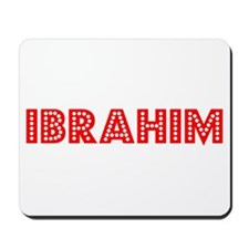 Retro Ibrahim (Red) Mousepad