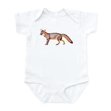 Gray Fox Animal Lover Infant Bodysuit