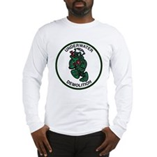 Unique Navy frogman Long Sleeve T-Shirt