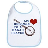 My Heart Belongs to a Banjo Player Bib