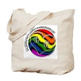 Support Gay Marriage Sphere Tote Bag