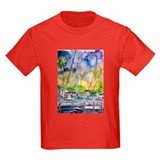 Sailboats Nautical watercolor T