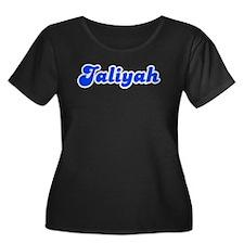 Retro Jaliyah (Blue) T