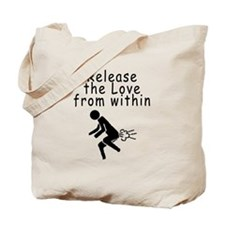 Cute Flatulating Tote Bag