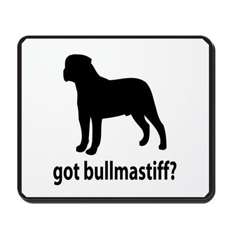 Got Bullmastiff? Mousepad