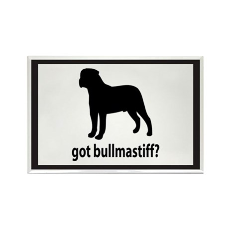 Got Bullmastiff? Rectangle Magnet