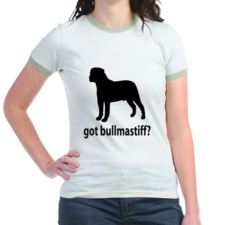Got Bullmastiff? Jr. Ringer T-Shirt