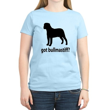 Got Bullmastiff? Women's Light T-Shirt