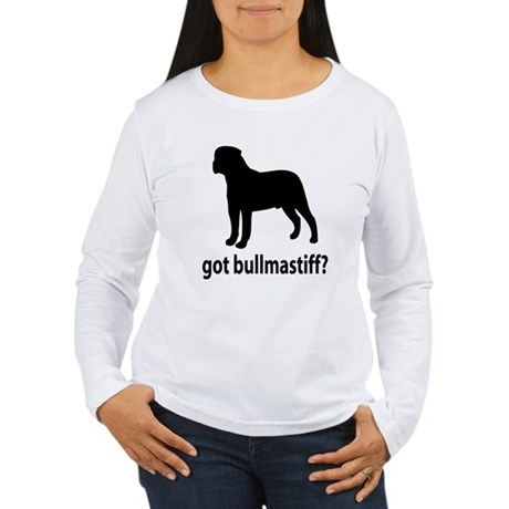 Got Bullmastiff? Women's Long Sleeve T-Shirt