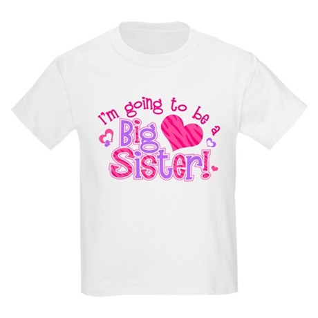 I'm Going to Be a Big Sister Kids Light T-Shirt
