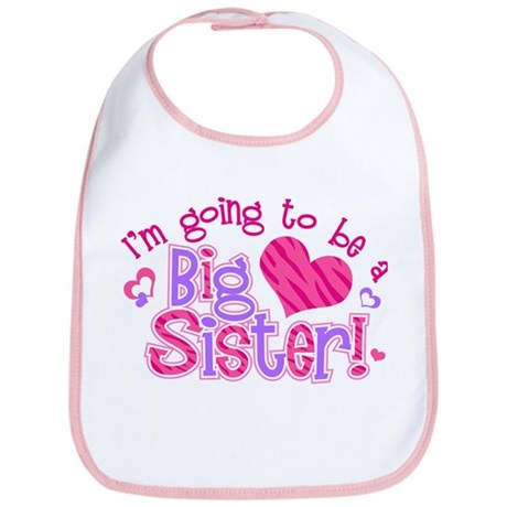 I'm Going to Be a Big Sister Bib