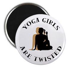 Yoga Girls Get Twisted Magnet