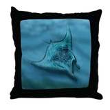 Cute Marinelife Throw Pillow