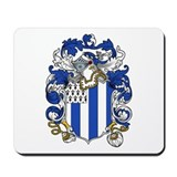Shirley Family Crest Mousepad