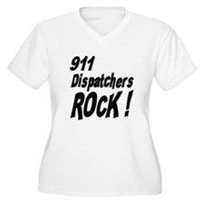 911 Dispatchers Rock ! T-Shirt