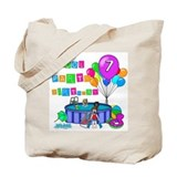 Pool Party 7th Birthday Tote Bag