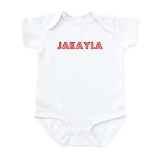 Retro Jakayla (Red) Infant Bodysuit