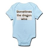 CW Dragon Wins Infant Bodysuit