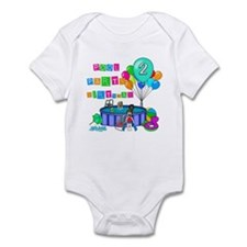 Pool Party 2nd Birthday Infant Bodysuit