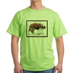 Puppy meets grasshopper Green T-Shirt