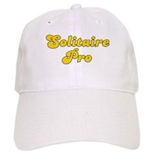 Retro Solitaire Pro (Gold) Baseball Cap