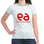 FUNNY 69 HUMOR SHIRT SEX POSI Jr. Ringer T-Shirt