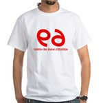FUNNY 69 HUMOR SHIRT SEX POSI White T-Shirt