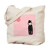 Kokeshi Tote Bag