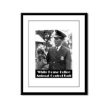 White House Police Framed Panel Print