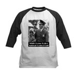 White House Police Kids Baseball Jersey
