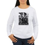 White House Police Women's Long Sleeve T-Shirt