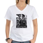 White House Police Women's V-Neck T-Shirt
