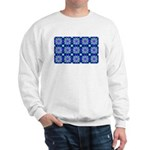 Blue Snowflake Sweatshirt