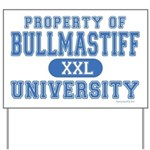 Bullmastiff University Yard Sign