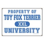Toy Fox Terrier U. Banner