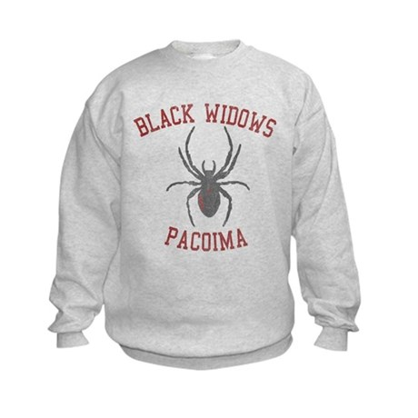Black Widows Pacoima Kids Sweatshirt