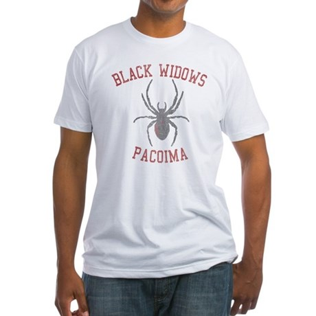 Black Widows Pacoima Fitted T-Shirt